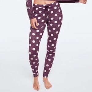 Vs Pink Cozy Jersey Sleep Pant Pajama M
